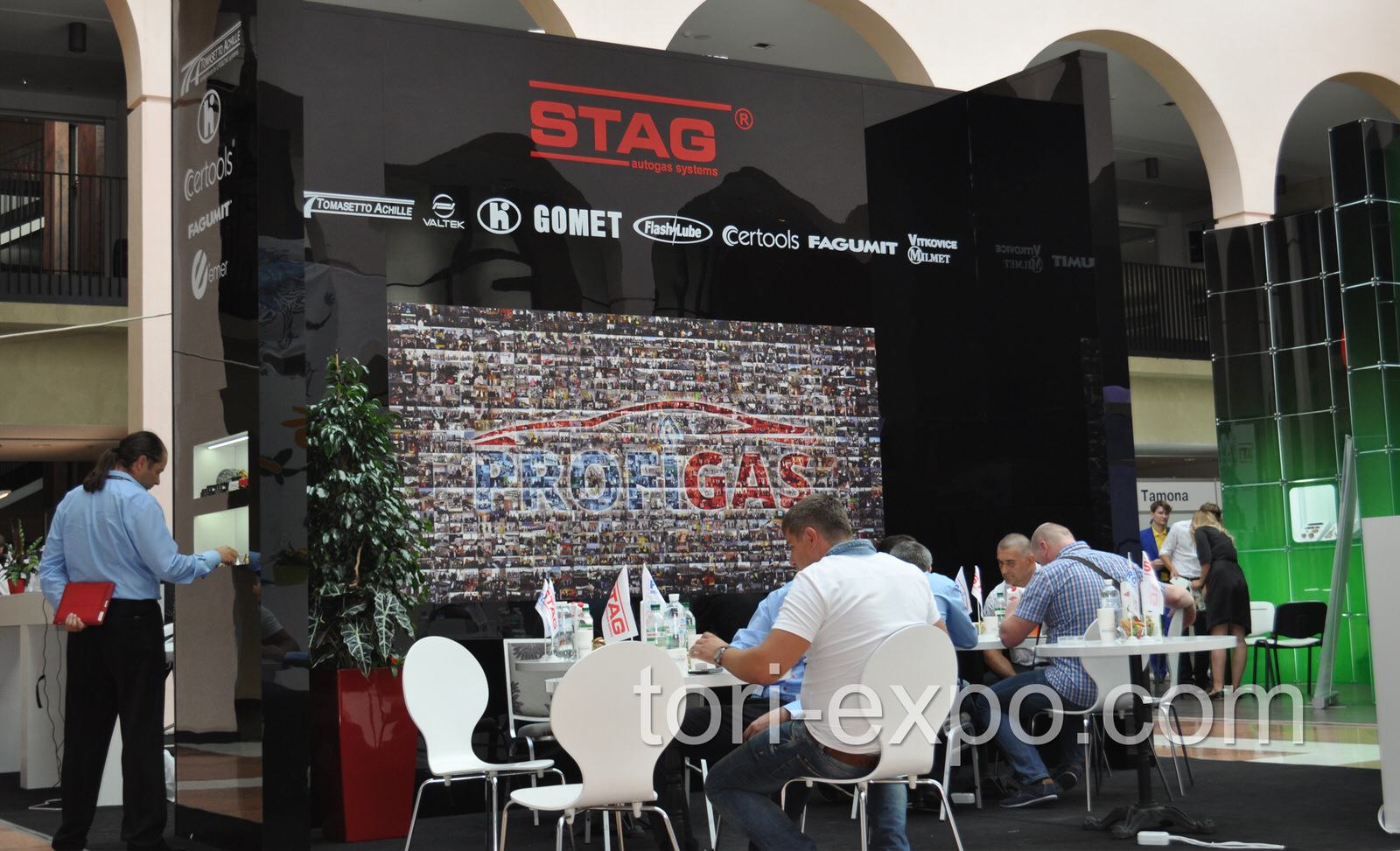 Exhibition stand STAG
